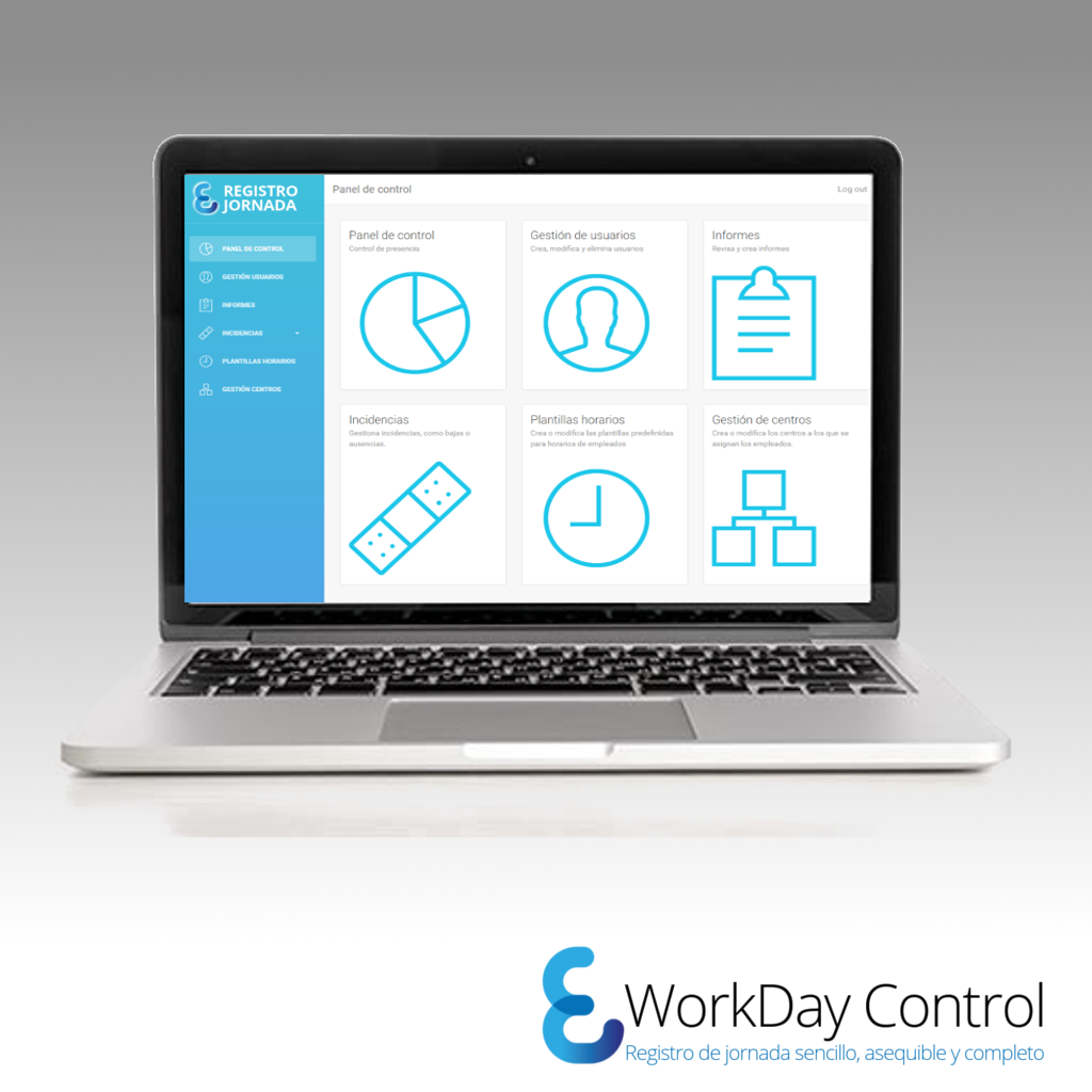 WorkDay Control solo software – WorkDay Control
